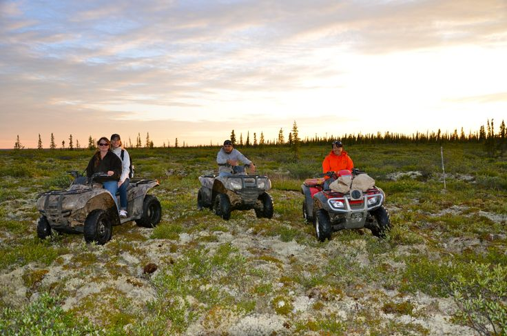 the northern tundra Deline Northwest Territories Canada