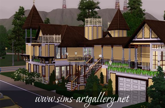 Sweet Browny Apartment http://www.sims-artgallery.net/en/gallery/sims-3/lots/residential-lots/medium/315/