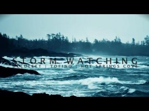 Storm watching on Vancouver Island, British Columbia