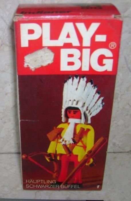 Play-Big Indianer Hauptling Schwarzer Buffel Indian Chief