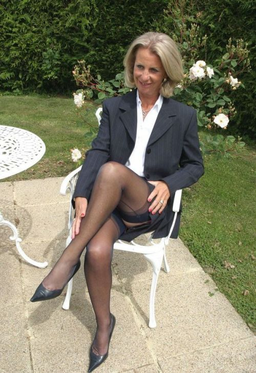 Stockings mature amateur-5743