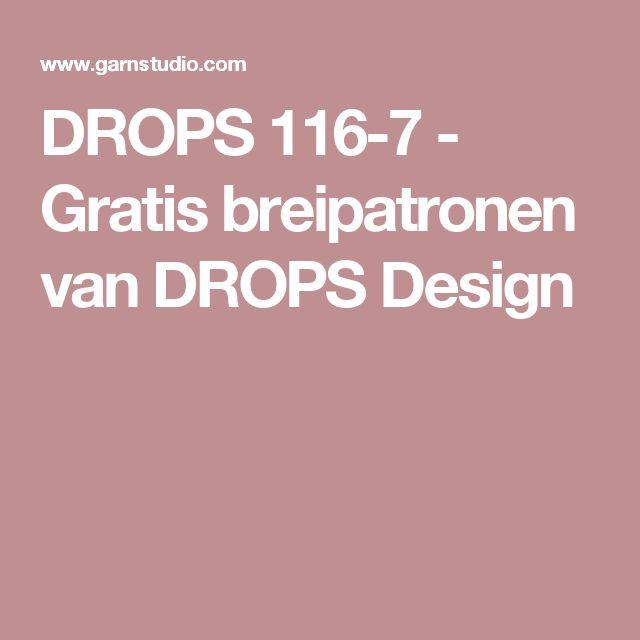 DROPS 116-7 - Gratis breipatronen van DROPS Design