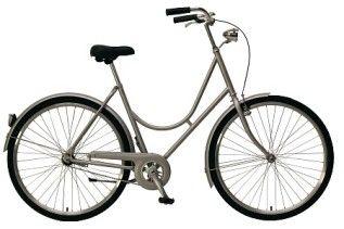 Cykel svängd ram oväxlad