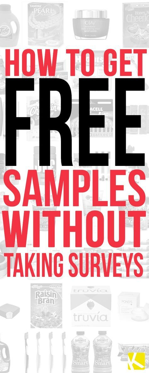 7 sites to get free samples without filling out surveys - Asbestos Surveyor Cover Letter