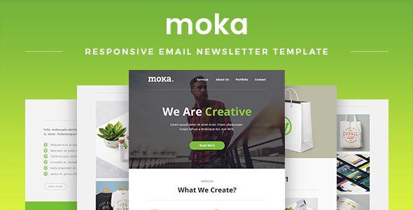 Moka - Responsive Email Newsletter Template Responsive email - email newsletter template