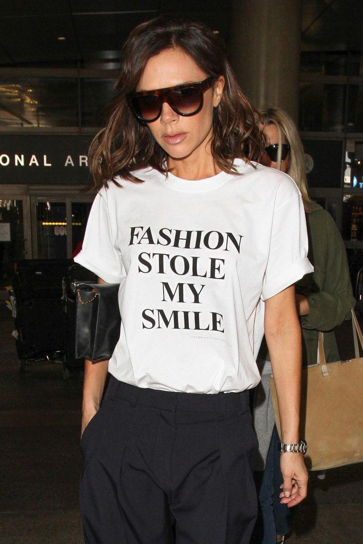 Le tee-shirt qui prouve que Victoria Beckham a le sens de l...