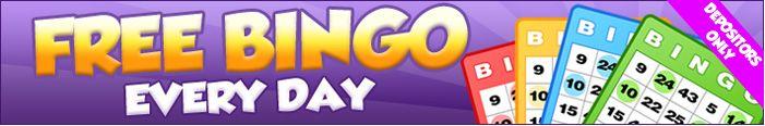 Play at Bingo Cabin and enjoy 2 Hours daily of Free Bingo for cash prizes!! #monday #FREE #Internetbingosites