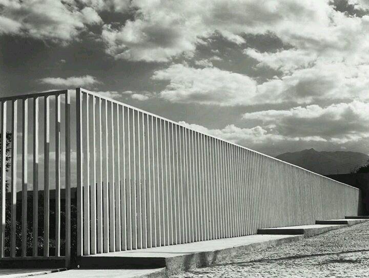 acceso a Pedregal, Luis Barragan, Ciudad de México