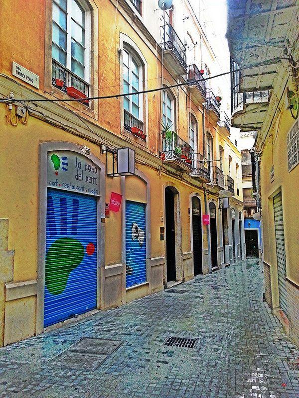 Calle Andrés Pérez. Málaga