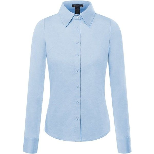 17 Best ideas about Blue Button Up Shirt on Pinterest | Blue and ...