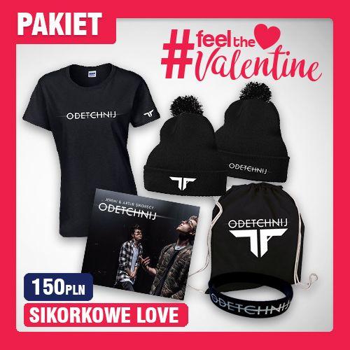 (PAKIET) SIKORKOWE LOVE