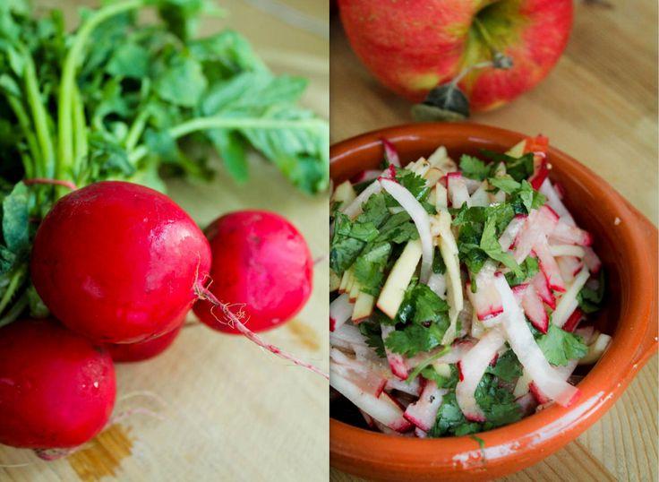 Apple Radish Salad