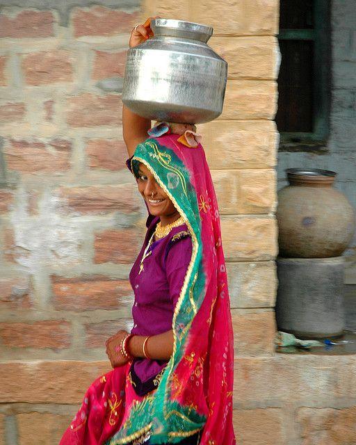 water bearer by Shreyans Bhansali, via Flickr