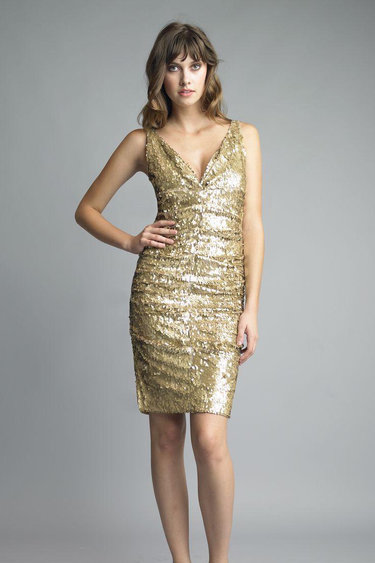Cocktail-Dresses-Gold-