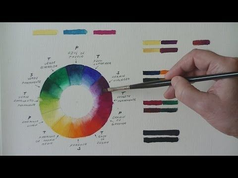 "Pintura al óleo.- ""Color"" - ""Teoría del Color... conclusiones"" - ""Colores quebrados"".- Nº 9 - YouTube"