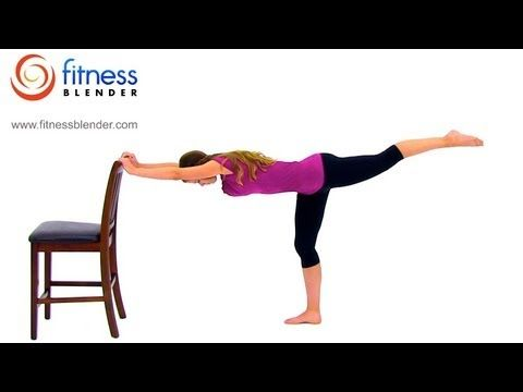 Fitness Blender Total Body Barre Workout – 39 Minute Barre Workout Video    This one will have your muscles burning like crazy!