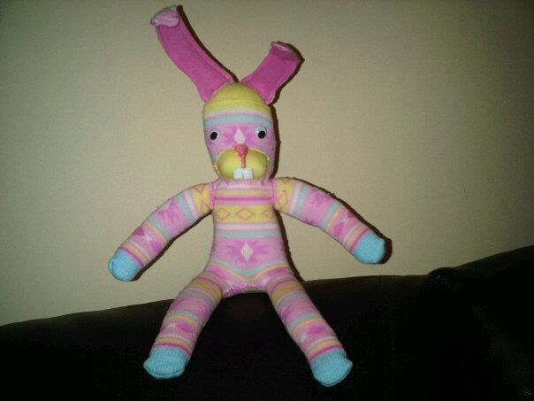 Pink rabbit for Chelsea
