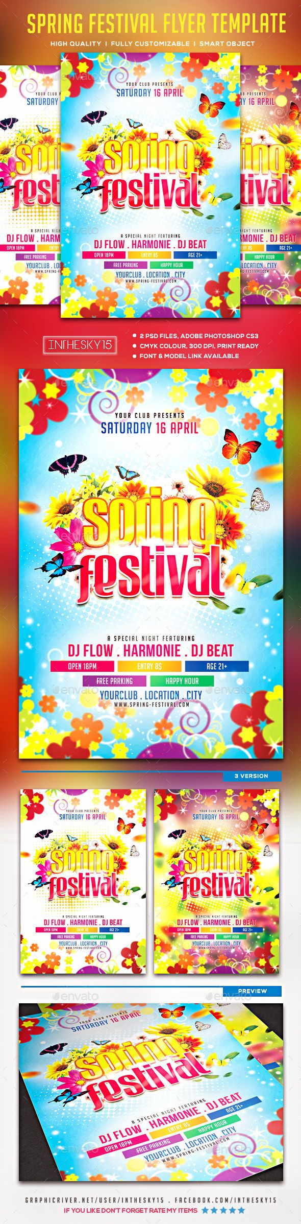 Best Spring Classes Flyer Images On   Flyer Template
