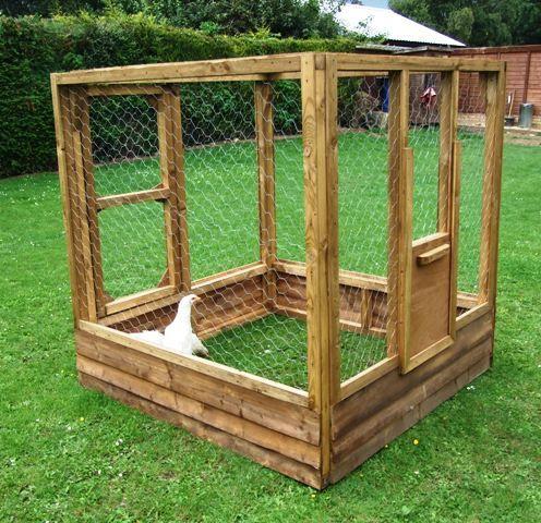 Homemade Chicken Coop Plans