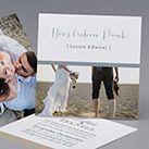 Hochzeitskarte Blue Jasmin M42-003 - Kollektion Trendy - kreative-hochzeitskarten.com