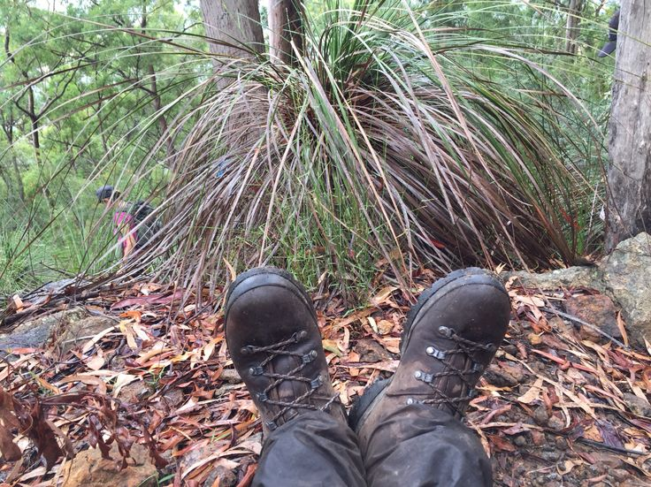 Feet up after a day's hiking. Loving the new Scarpa boots