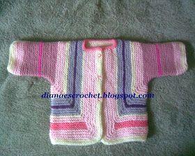 Hola amigas..!!    Han escuchado hablar del suéter sorpresa para bebé (baby surprise jacket)..?? pues les cuento que yo no me había topado c...