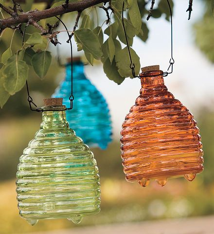 Recycled Glass Wasp Catcher | Practical and adorable