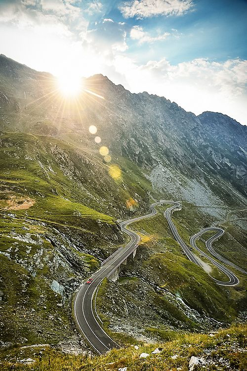 In Search of the World's Greatest Roads! Could the Transfagarasan in Romania be the ultimate driving road?! Hit the image to watch the video!