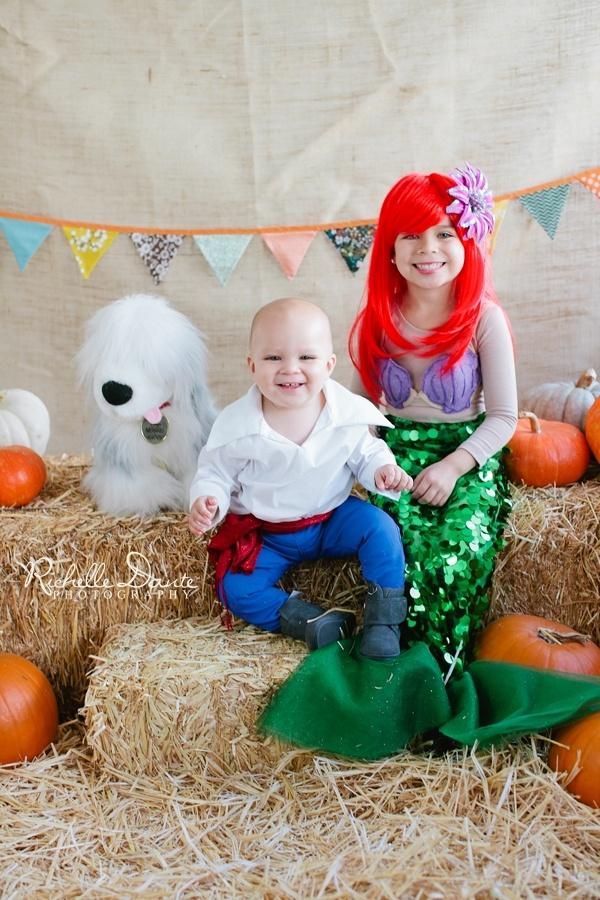 Halloween costume idea. The Little Mermaid.  Richelle Dante Photography