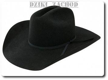 kapelusz kowbojski filcowy