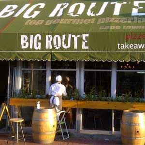 Big Route Deli Bar for authentic Italian Pizza and Laughs