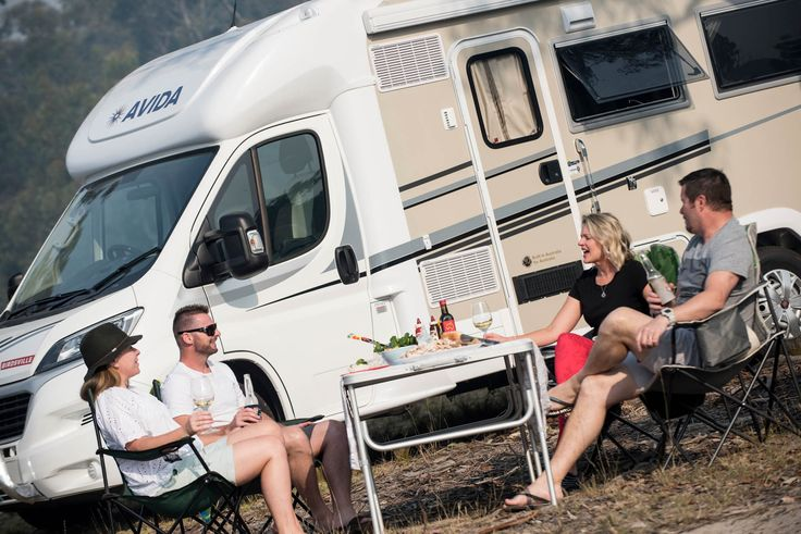 Don't squeeze yourself into a small, overcrowded cafe and wait to get the attention of wait staff. Pull up in your Avida and pick a nice spot, get the camp table and chairs out and enjoy a beverage or meal with your friends wherever you please.