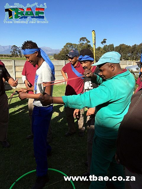 Catty Shooting Team Building Activity