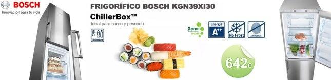 Frigorífico combi Bosch KGN39XI30