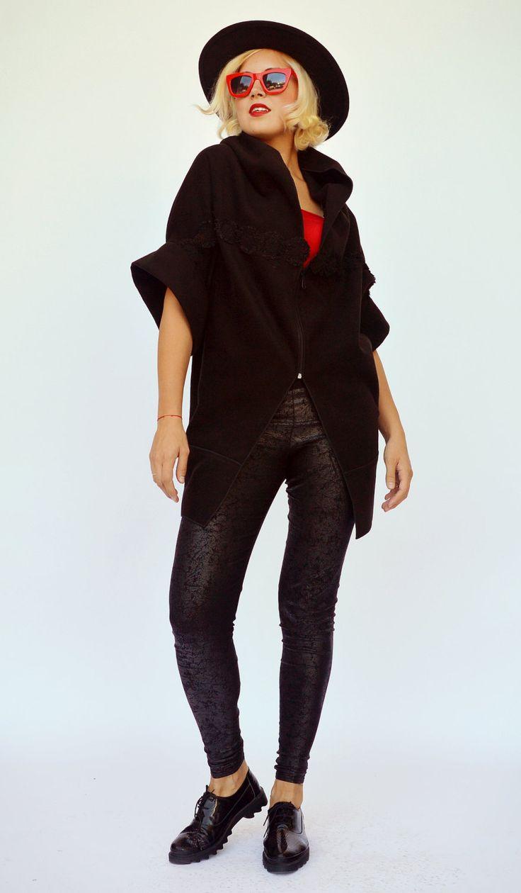 Now selling: Sleeveless Black Wool Coat / Wool Coat / Extravagant Asymmetric Blazer Ayra TC15 https://www.etsy.com/listing/170401969/sleeveless-black-wool-coat-wool-coat?utm_campaign=crowdfire&utm_content=crowdfire&utm_medium=social&utm_source=pinterest