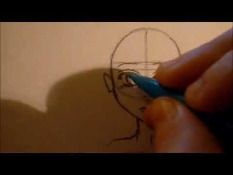 Cours de dessin ☆ Dessiner un visage manga ☆ [HD] - YouTube