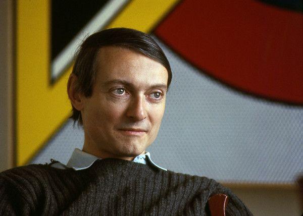 Roy Lichtenstein, photo by Michael Fredericks