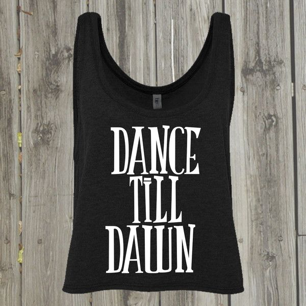 Dance Shirts Rave Crop Top Edc Top Club Dress Dancewear Party Dress... ($20) ❤ liked on Polyvore featuring tops, shirts, dark olive and women's clothing