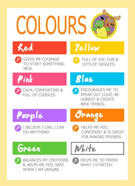 colors and meanings