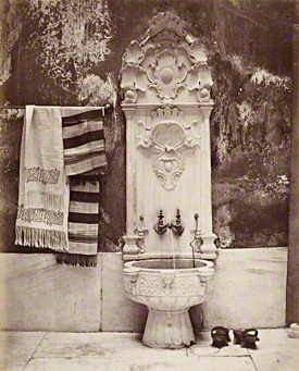 bain turc by Abdullah Frères c1860 • link to an introduction to Orientalist Photography
