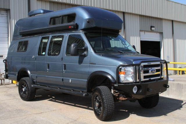 sportsmobile custom camper vans 2012 ford 4x4 extended. Black Bedroom Furniture Sets. Home Design Ideas