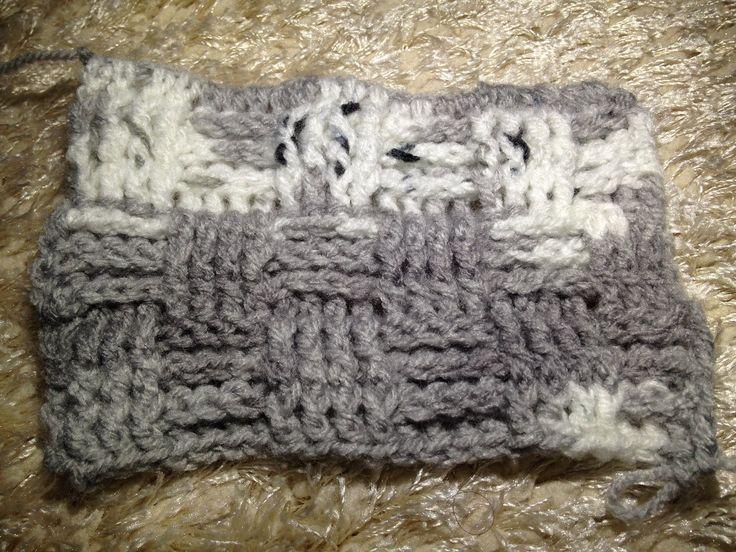 Sepet Örgü Yapımı - Basket Crochet