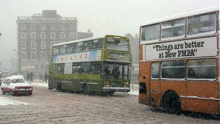 The big snow 1982