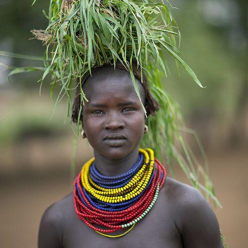Eric Lafforgue  www.ericlafforgue.com Dassanach woman - Ethiopia