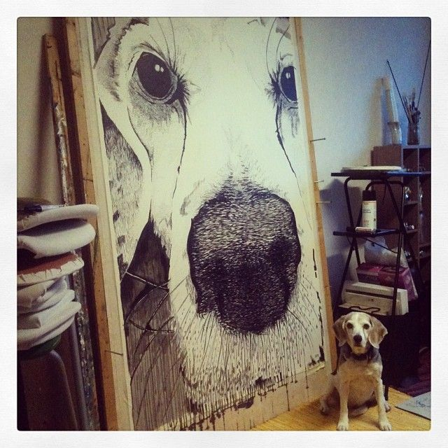 "29 tykkäystä, 2 kommenttia - Gaggui Kaffela 🍰❤☕ (@gagguikaffela) Instagramissa: ""#Cool stuff coming to #gagguikaffela :) Like this #huge #drawing by Johanna! We love #art and we SO…"""