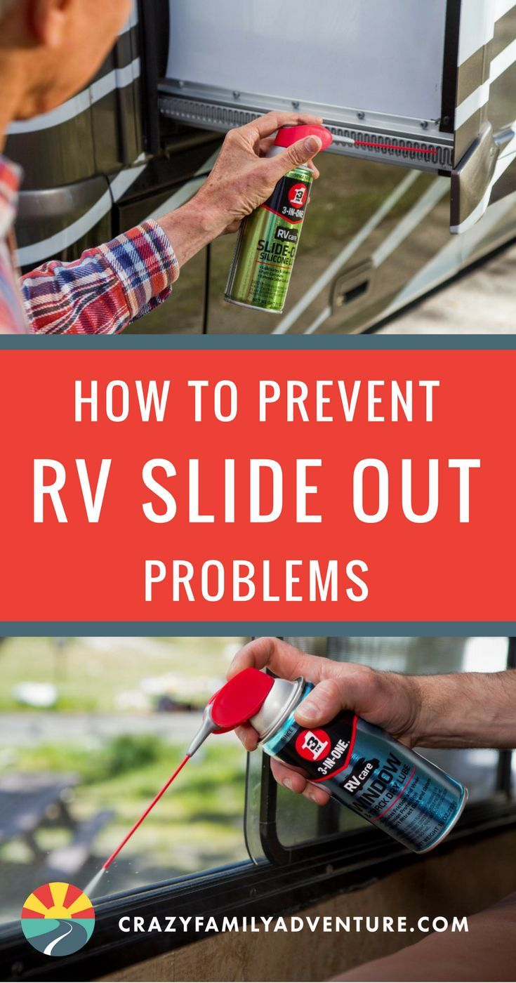 How to Prevent RV Slide Out Problems- Throughout our years of #Fulltime #RVLiving, we have discovered a few helpful RV #hacks. Find out how to prevent pesky RV #slideout problems, for any amount of time spent #RVCamping.