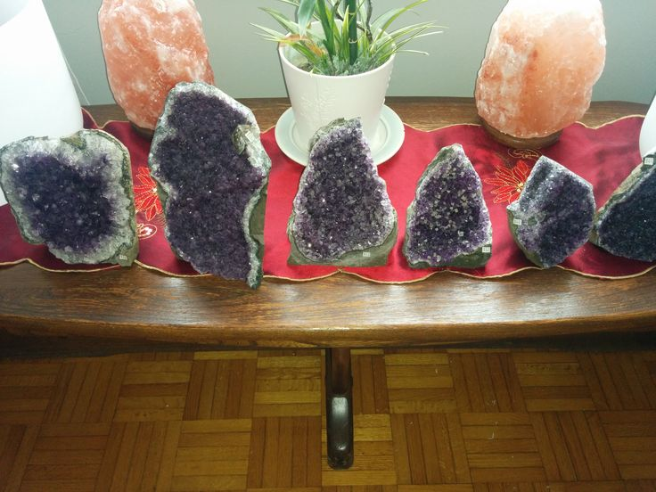 New gorgeous Amethyst geodes for sale! :)