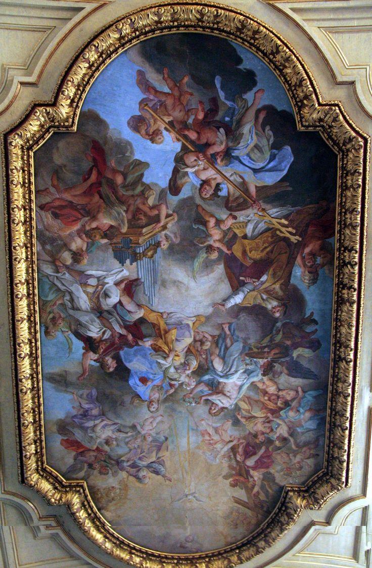 Santa Cecilia in Trastevere: Gloria di Santa Cecilia di Sebastiano Conca Mostra a dimensioni intere Lingua preferita