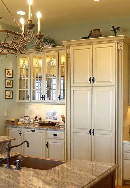 Incredible French Country Kitchen.