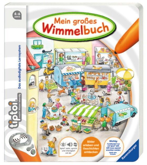 Ravensburger tiptoi Buch Mein großes Wimmelbuch 00597sparen25.info , sparen25.de , sparen25.com